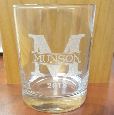 Item provided by Customer / Glass Cup