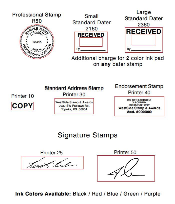custom stampers