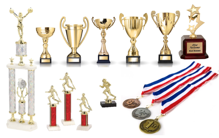 custom trophies and medals
